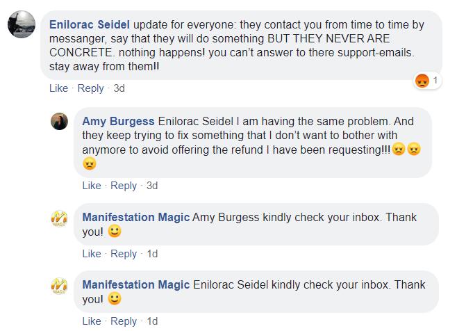 Manifest Magic Facebook Review
